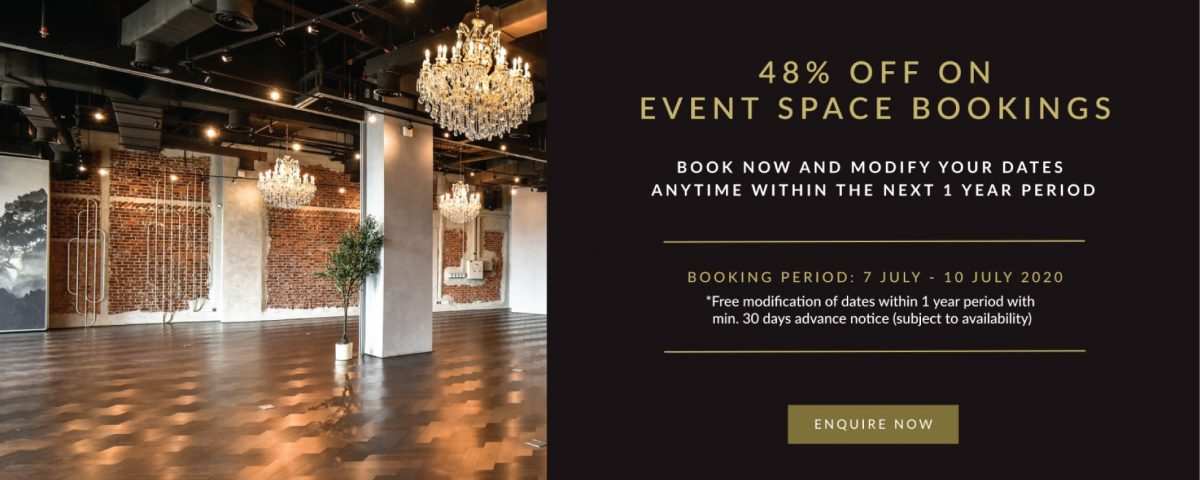 event space discounts in KL