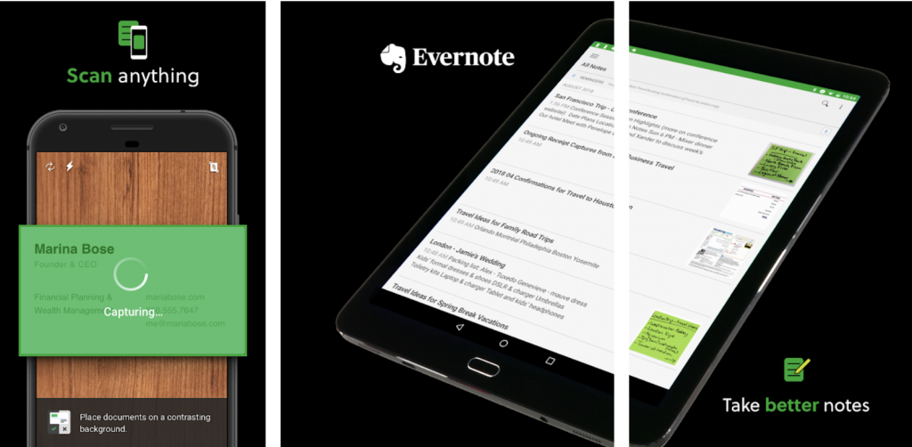 evernote app for event space kl