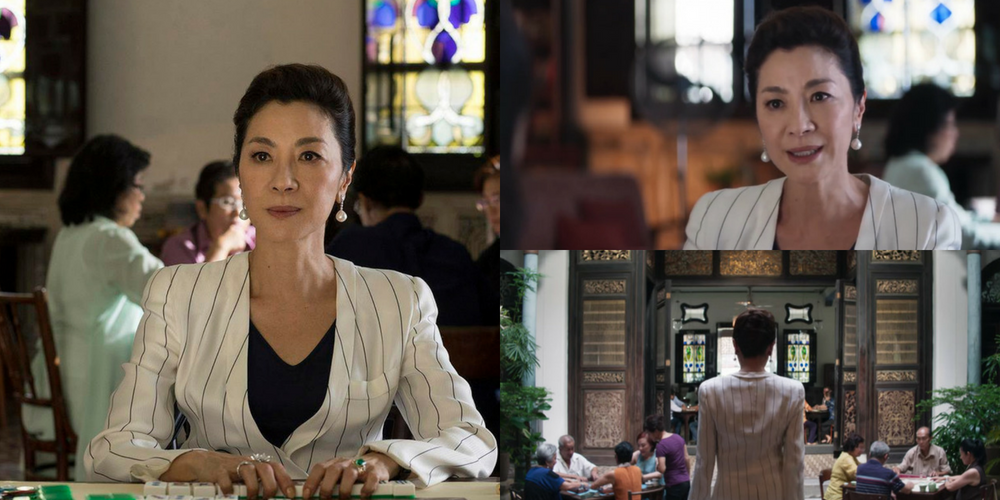 The Blue Mansion set in Crazy Rich Asians